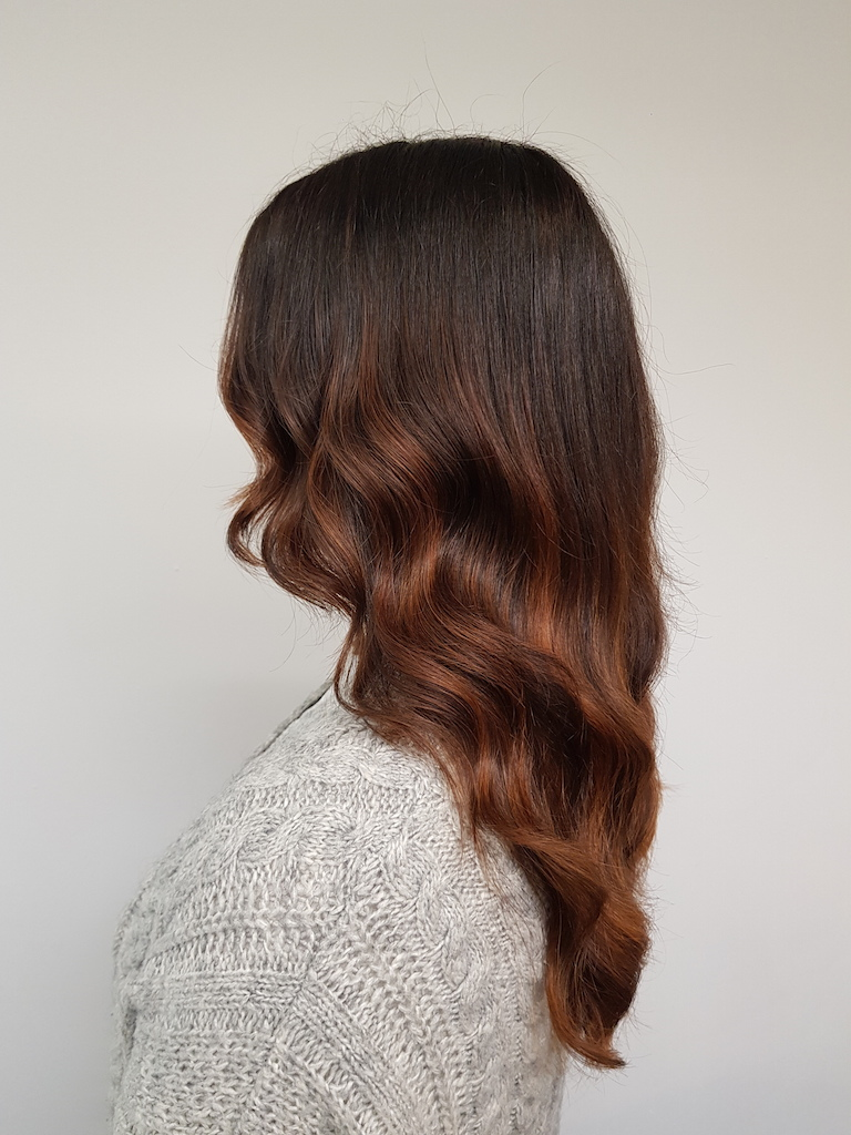 Our Salon Ratoath - Balayage Coppertones
